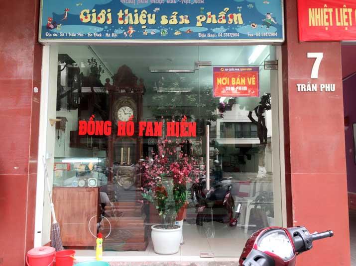 Cửa hàng đòng hồ Phan Hiền